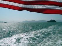 Isola di Alcatraz Fotografie Stock