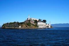 Isola di Alcatraz Fotografia Stock