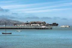 Isola di Alcatraz, California immagini stock libere da diritti