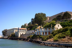 Isola di Alcatraz, San Francisco immagini stock libere da diritti