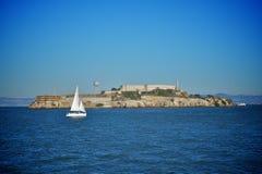 Isola di Alcatraz a San Francisco Immagine Stock Libera da Diritti