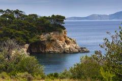 Isola di Alonissos Immagini Stock