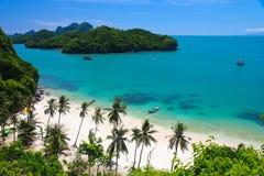 Isola di Angtong Immagini Stock Libere da Diritti
