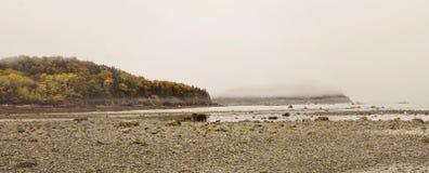 Isola di Antivari nel porto di Antivari, Maine Immagine Stock