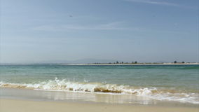 Isola di Armona, Ria Formosa View Algarve Fotografia Stock Libera da Diritti