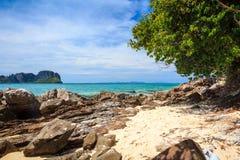 Isola di bambù, Tailandia Immagine Stock