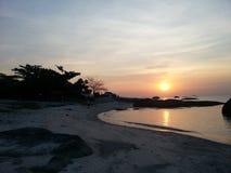 Isola di Belitong fotografie stock libere da diritti