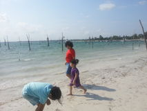 Isola di Belitong immagine stock libera da diritti