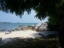 Isola di Belitong fotografie stock