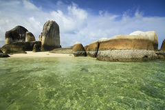 Isola di Belitung Fotografia Stock
