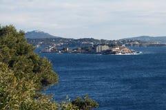 Isola di Bendor in riviera francese Immagini Stock Libere da Diritti