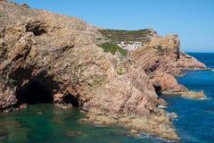 Isola di Berlenga - Portogallo Fotografia Stock Libera da Diritti