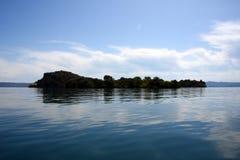 Isola di Bisentina Stockfotografie