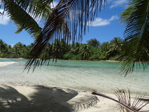 Isola di Bora Bora Immagini Stock