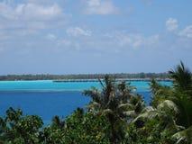 Isola di Bora Bora Fotografie Stock Libere da Diritti