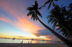 Isola di Boracay Immagine Stock Libera da Diritti