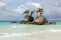Isola di Boracay, Filippine fotografie stock
