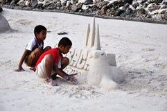 Isola di Boracay, Filippine Immagine Stock Libera da Diritti