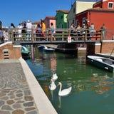 Isola di Burano Fotografie Stock