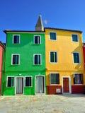 Isola di Burano Fotografie Stock Libere da Diritti