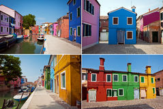 Isola di Burano, Italia Immagine Stock Libera da Diritti