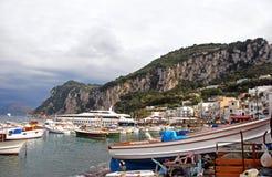 Isola di Capri Immagine Stock