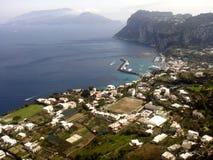Isola di Capri Immagini Stock Libere da Diritti