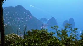 Isola di Capri, Italia stock footage