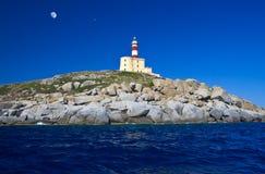 isola di cavoli, Sardegna Immagine Stock