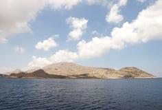 Isola di Chalki fotografia stock