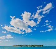 Isola di chiave di tramonto in Key West, Florida, U.S.A. fotografie stock