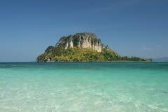 Isola di cielo Fotografia Stock