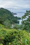 Isola di Cocos della baia di Catham Immagini Stock