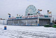 Isola di Coney dello Snowy Fotografie Stock