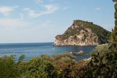 Isola di Corfù Immagini Stock