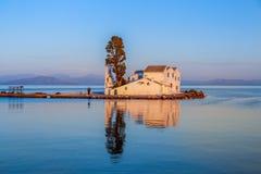 Isola di Corfù sulla Grecia Fotografia Stock Libera da Diritti