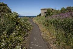 Isola di Cramond un giorno soleggiato immagine stock libera da diritti