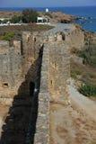 Isola di Creta, Frangokastello immagini stock