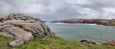 Isola di Cruit Fotografie Stock