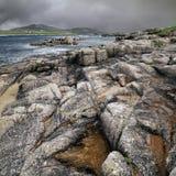 Isola di Cruit - paesaggio drammatico Immagini Stock