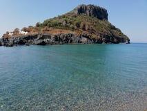 Isola di Dino royaltyfri bild