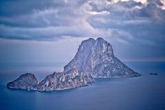 Isola di es Vedra, Ibiza immagini stock