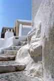 Isola di Fira Santorini, Grecia fotografia stock