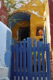 Isola di Fira Santorini, Grecia immagine stock