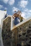 Isola di Fira Santorini, Grecia fotografia stock libera da diritti