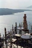 Isola di Fira Santorini, Grecia fotografie stock libere da diritti