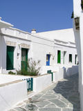 Isola di Folegandros, Grecia Fotografie Stock Libere da Diritti