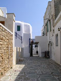 Isola di Folegandros, Grecia Fotografia Stock
