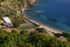 Isola di Fourni Fotografia Stock