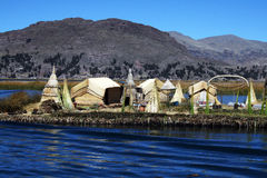 Isola di galleggiamento Immagini Stock Libere da Diritti